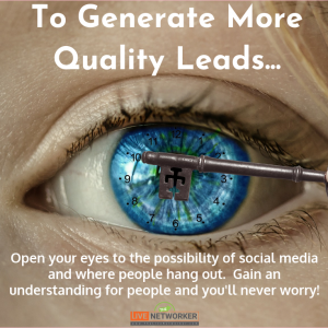 How to generate leads in network marketing