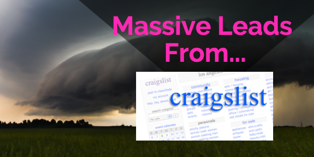 How To Place An Ad On Craigslist For Instant MLM Leads