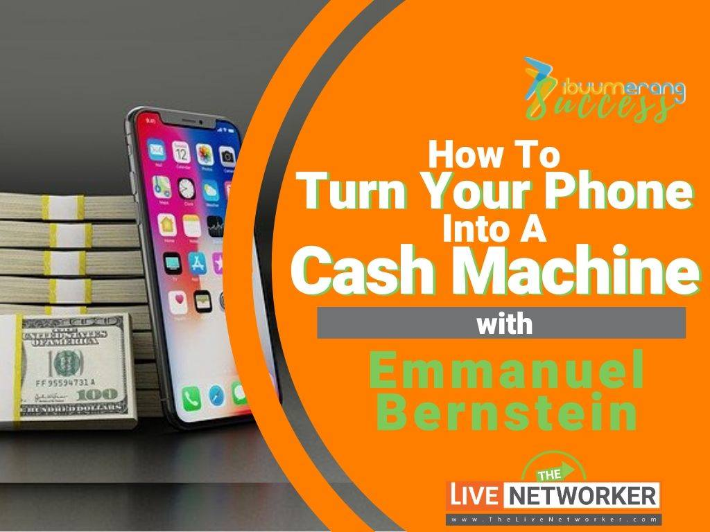 Emmanuel Bernstein With iBuumerang: How To Turn Your Phone Into A Cash Machine