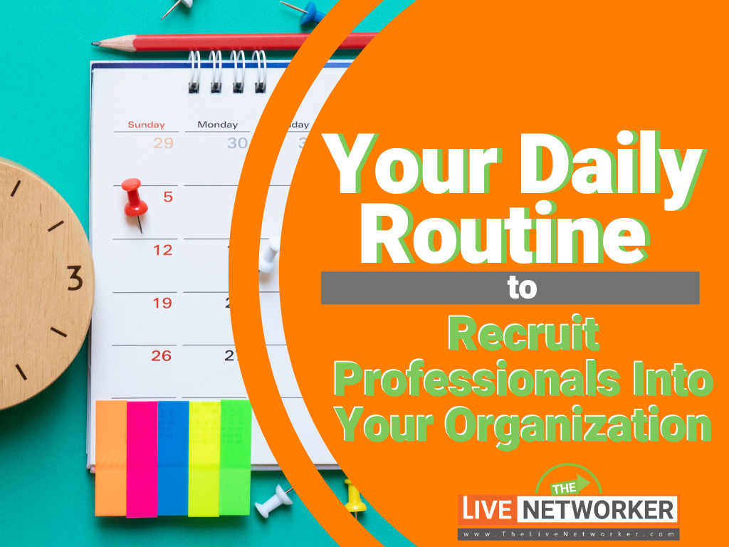 Your Daily Routine For Using LinkedIn For Network Marketing To Create Massive Momentum